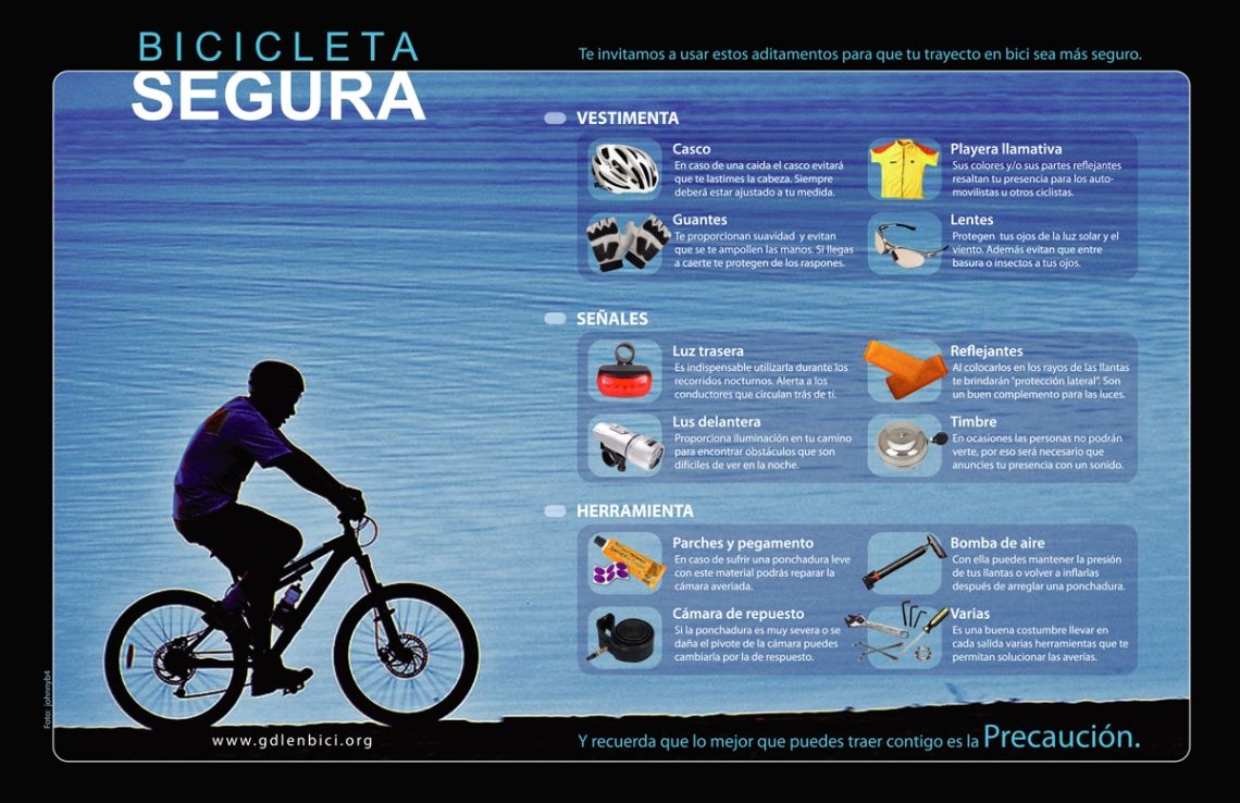Cartel Bici Segura