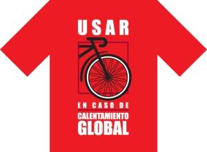 Camapaña para la promocion del uso de la bicicleta