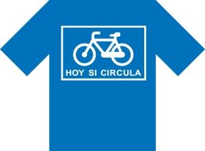 Campaña Hoy si circula, diseño por Antonio Vaca