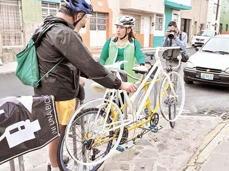 Recuerdan ciclistas