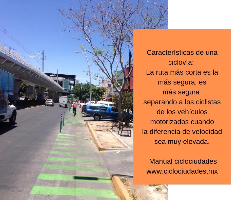 Las principales vías ciclistas deben coincidir con las rutas de alta demanda ciclista; gran porcentaje de los recorridos en bicicleta dentro de la ciudad deben estar cubiertos por las vías ciclistas primarias de la r (1)