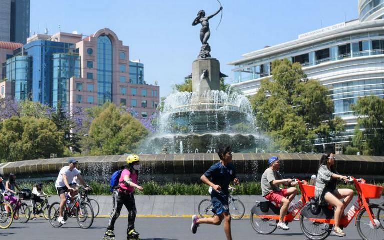 paseo ciclista ALEJANDRO AGUILAR