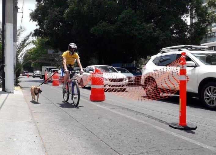 Ciclovía de Avenida Guadalupe